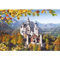 Puzzle Castorland - 3000 de piese - Castelul Neuschwanstein, Germania  SARRA PUZZLE