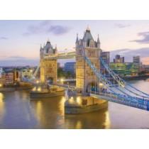 Puzzle Clementoni - 1000 de piese - Tower bridge, Londra  SARRA PUZZLE