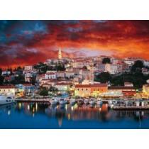 Puzzle Trefl - 3000 de piese - Vsar, Istria, Croatia  SARRA PUZZLE