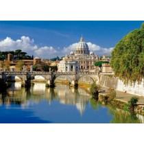 Puzzle Trefl - 500 de piese - Cetatea Vaticanului Roma Italia  SARRA PUZZLE