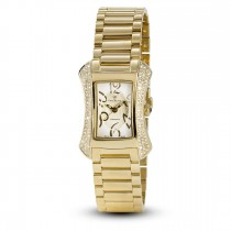 Ceas de dama, Swiss Made, Auriu, Bratara otel inoxidabil, 117 Diamante Christina Diamonds SRL