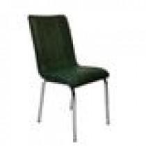 Set 4 scaune Pedli Almera tapitate piele ecologica verde