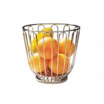 Cos fructe inox, pentru bar Ų 21,5 cm, H=20,5 cm AdHoreca