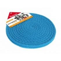 Set 2 suporti textili pentru masa, rotund, 21.6 cm - albastru AdHoreca