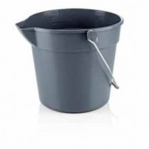 Galeata PP gri, 10 litri AdHoreca