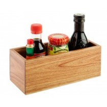 Organizator masa pentru ulei, otet, sare, piper - 23x10 cm AdHoreca