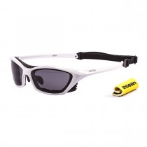 Ochelari Ocean Lake Garda Shiny White   smoke lens ShopeXtrem