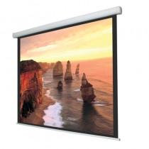 Ecran proiectie videoproiector electric Ligra Cinedomus Home Theater cu bordura format 16:9/300 x 218cm GBC EXIM