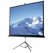 Ecran proiectie videoproiector tripod Ligra Orion King 213cm x 213cm GBC EXIM