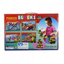 Joc de constructie Pioneer Blocks cu 100 de piese