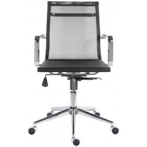 Scaun de birou rotativ Berko 1600 negru