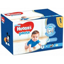 Scutece-chilotel Huggies Box Pack, Nr.3, Baieti, 6-11 kg, 88 buc