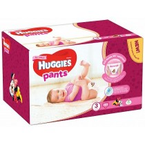 Scutece-chilotel Huggies Box Pack, Nr.3, Fete, 6-11 kg, 88 buc