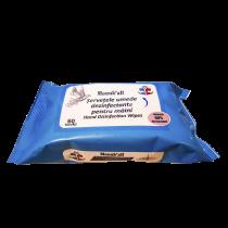 Servetele umede biocide dezinfectante antibacteriene pentru maini Monukall, Avizate de Ministerul Sanatatii