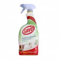 Spray dezinfectant antibacterian pentru suprafete multiple Savo 650 ml