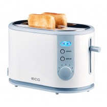 Prajitor de paine ECG ST 8730, 800W, reincalzire, dezghetare, anulare, 2 felii