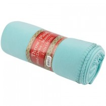 PATURA PLED FLEECE POLYESTER 140X180cm TURQUOISE