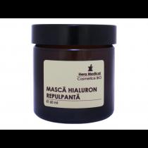 Masca hialuron repulpanta, Hera Medical Cosmetice BIO, 60 ml Totsub20