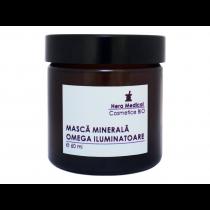 Masca minerala omega iluminatoare, Hera Medical Cosmetice BIO, 60 ml Totsub20
