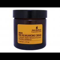 Crema anti-aging sebo-regulatoare pentru barbati, Hera Medical Cosmetice BIO, 60 ml Totsub20