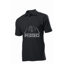 Tricou polo negru ST3000 MABO INVEST