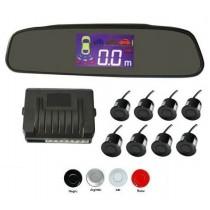 Senzori parcare fata spate cu 8 senzori cu display in oglinda XENON BRIGHT