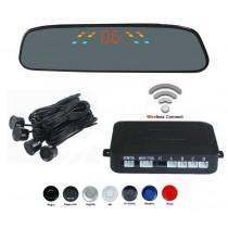 Senzori parcare cu display in oglinda wireless T17 XENON BRIGHT