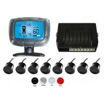 Senzori parcare fata spate cu 8 senzori si display LCD 675112 XENON BRIGHT