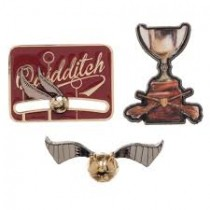 Set Insigne Harry Potter Quidditch Cup Kryptonited Z.inc