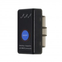 Tester auto / Interfata OBD II diagnoza Bluetooth 4.0 cu buton ON/OFF pentru IPhone / Android / windows ( Obd2 )