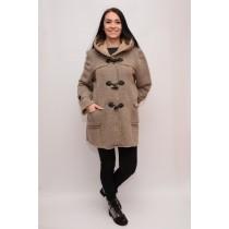 Jachete de toamna-iarna, culoare bej, casual