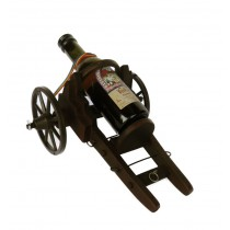 Suport vin in forma de tun cu sticluta CDT-02-OSH ALEXER SRL