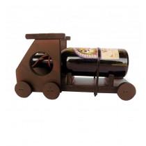 Suport vin camion mic din lemn cu sticluta CDT-10-OSH  ALEXER SRL