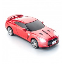 Mouse Nissan GT-R gold flake red wireless ALEXER SRL