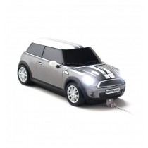 Mouse Mini Cooper S Dark Grey - USB ALEXER SRL