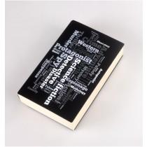 Coperta Neagra imprimata pentru carti ALEXER SRL
