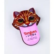 Semn de carte amuzant Limba de Pisica ALEXER SRL