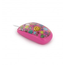 Mouse Smiley World pink ALEXER SRL