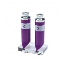 Set pentru piper si sare - violet ALEXER SRL