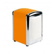 Suport din metal pentru servetele James - portocaliu  ALEXER SRL