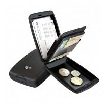 Portofel aluminiu mat gri Cash & Cards Tru Virtu - Silk Line  ALEXER SRL