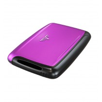 Portofel din aluminiu pentru carduri Pearl de la Tru Virtu - Purple Rain  ALEXER SRL