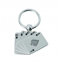 Breloc metalic Cards ALEXER SRL