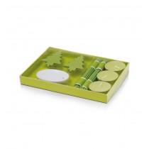 Lumanari parfumate set verde ALEXER SRL