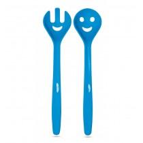 Ustensile bucatarie pentru servit salata - albastru  ALEXER SRL