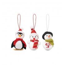 Set 3 decoratiuni de Craciun Snowies CDT-CX1411-00 ALEXER SRL