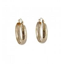 Cercei, brand onlinebijoux, placati cu aur de 18 K, 2 microni, colectia Brazil style IMPEX SILVERGOLD SRL