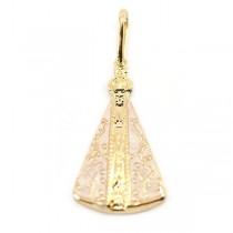 Pandantiv placat cu aur de 18k IMPEX SILVERGOLD SRL