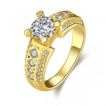 Inel placat cu aur de 18 K IMPEX SILVERGOLD SRL