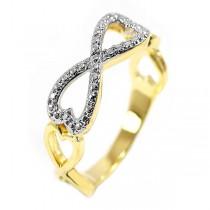 Inel placat cu aur de 18k IMPEX SILVERGOLD SRL